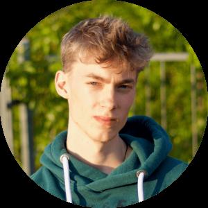 """""""Durch cogita gewann ich ein neues wertvolles soziales Umfeld. Ich konnte mich in vielen wichtigen Aspekten weiterentwickeln und mehr Selbstvertrauen gewinnen. cogita ist mir mittlerweile sehr ans Herz gewachsen."""" - Jakob, 21, Mitglied"""